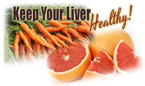 how to repair and improve liver