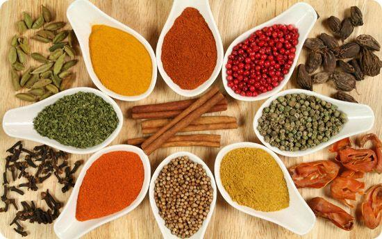 list of healthiest most beneficial spices