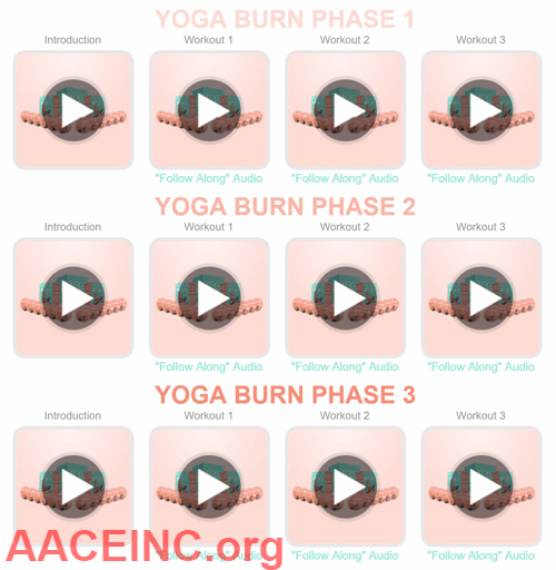 what are her yoga secrets 3 phases