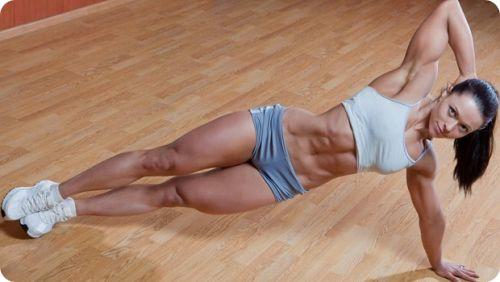exercises to get abs for females