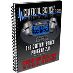 Mike Westerdal's Critical Bench 2.0 Review