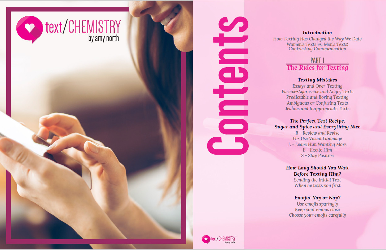 Text Chemistry's Table of Contents