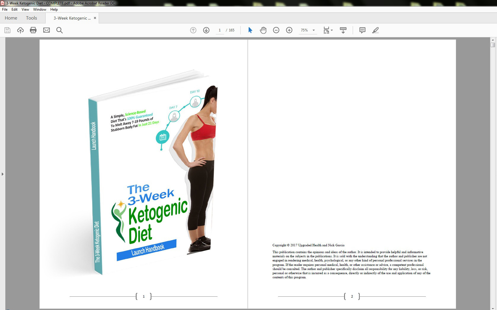 The 3-Week Ketogenic Diet Table of Contents